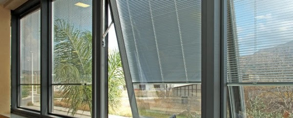 Maintenance Free, betwee the Glass Blinds!